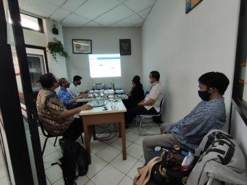 PT Era Kualitas Informasi melakukan training Aplikasi KPI untuk STP Trisakti pada tanggal 09 September 2021
